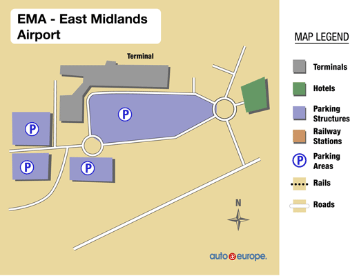 East Midlands Airport Hotels With Free Parking